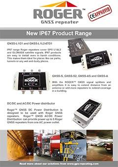 ROGER IP67 Product Range